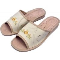 Комнатные женские кожаные тапочки Nowbut N9 40 размер