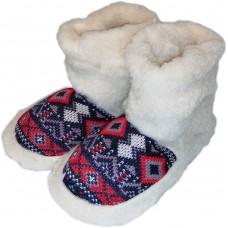 Комнатные женские тапочки чуни (угги) из овчины Polmar 1008-01 38/39 размер