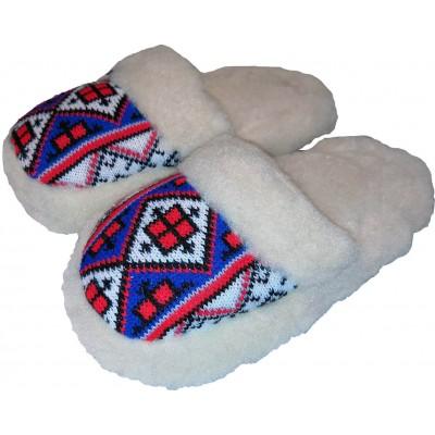 Комнатные теплые женские тапочки Polmar 39 размер 25,5 см (модель 1009-02)