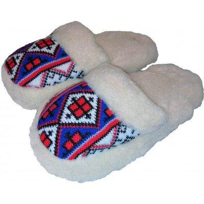 Комнатные теплые женские тапочки Polmar 37 размер 23,5 см (модель 1009-02)