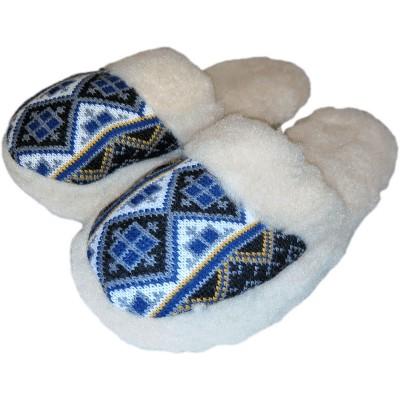 Комнатные теплые женские тапочки Polmar 40 размер 26 см (модель 1009-04)