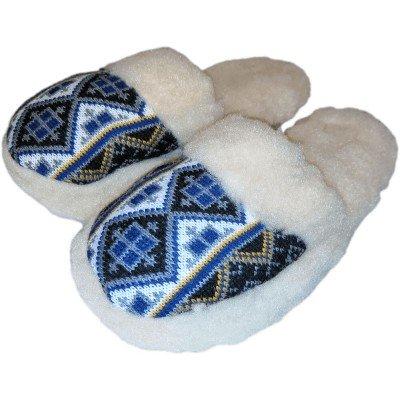 Комнатные теплые женские тапочки Polmar 37 размер 23,5 см (модель 1009-04)