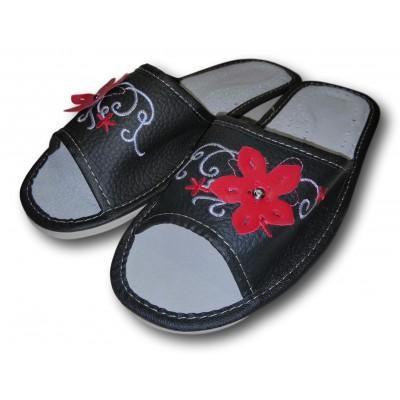 Женские кожаные домашние тапочки Polmar 36 размер 22,5 см (модель P151)