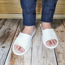 Уценка! Комнатные женские кожаные тапочки Polmar P183 36 размер