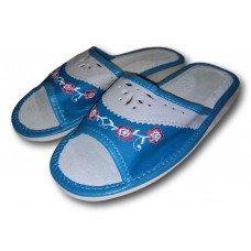 Комнатные женские кожаные тапочки Polmar P202 37 размер