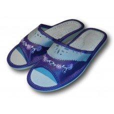 Комнатные женские кожаные тапочки Polmar P202v 36 размер