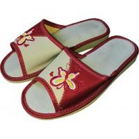 Комнатные женские кожаные тапочки Polmar P226-02 38 размер