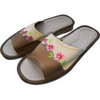 Комнатные женские кожаные тапочки Polmar P226-03 40 размер