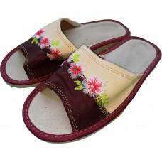 Комнатные женские кожаные тапочки Polmar P226-04 36 размер