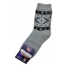 Носки из шерсти ангоры SOFTSAIL №7272 светло-серого цвета 39-42  размера