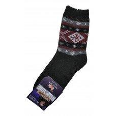 Женские теплые носки из шерсти ангоры SOFTSAIL №7272 черного цвета 39-42  размера