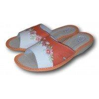 Комнатные женские кожаные тапочки TapMal A213