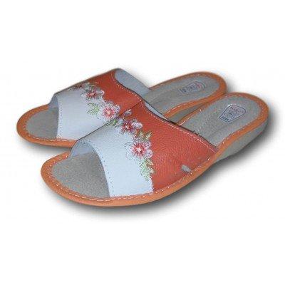 Женские кожаные домашние тапочки TapMal 36 размера 23 см (модель A213)