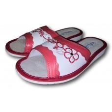 Комнатные женские кожаные тапочки TapMal A2