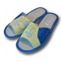 Комнатные женские кожаные тапочки TapMal A103bj
