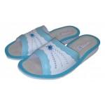 Комнатные женские кожаные тапочки TapMal A166