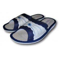 Комнатные женские кожаные тапочки TapMal A174