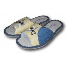 Комнатные женские кожаные тапочки TapMal A170