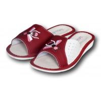 Комнатные женские кожаные тапочки TapMal A170rw