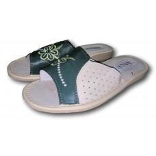 Комнатные женские кожаные тапочки TapMal A228