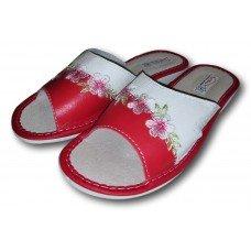 Комнатные женские кожаные тапочки TapMal A312