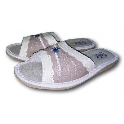 Женские кожаные домашние тапочки TapMal 40 размера 24,5 см (модель A92)