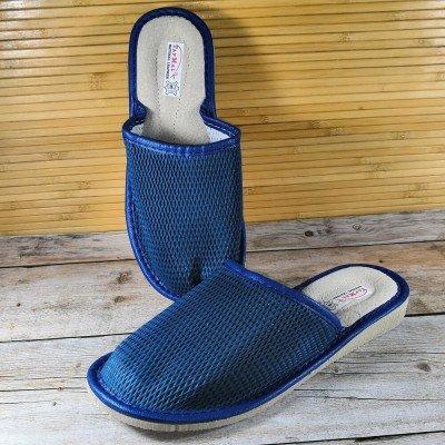 Кожаные домашние тапочки TapMal 39 размера 24 см (модель A1242b)