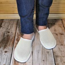 Комнатные кожаные тапочки TapMal A1242w