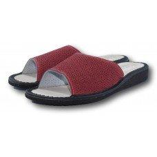 Комнатные женские кожаные тапочки на усиленной подошве TapMal A60 37 размер