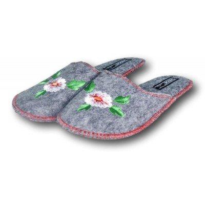 Комнатные женские войлочные тапочки TapOK 38 размер 24,5 см (модель T503)