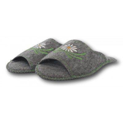 Комнатные женские войлочные тапочки TapOK 36 размер 23,5 см (модель T504)