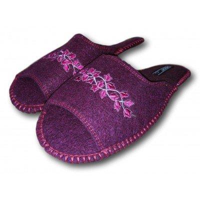 Комнатные женские войлочные тапочки TapOK 37 размер 23,7 см (модель T515)