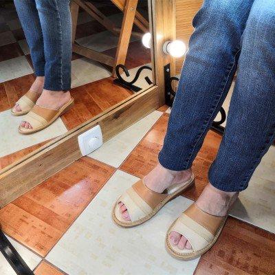 Женские кожаные домашние тапочки Tylbut 39 размер 24,5 см (модель TB359b)