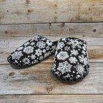 Комнатные фетровые женские тапочки ручной работы VENDS 247W