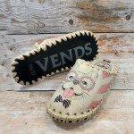 Комнатные фетровые женские тапочки ручной работы VENDS 511W