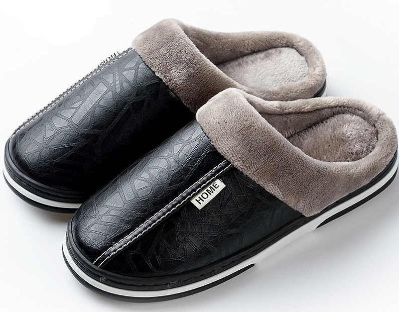 Кожаные тапочки купить недорого в «БезТапок»