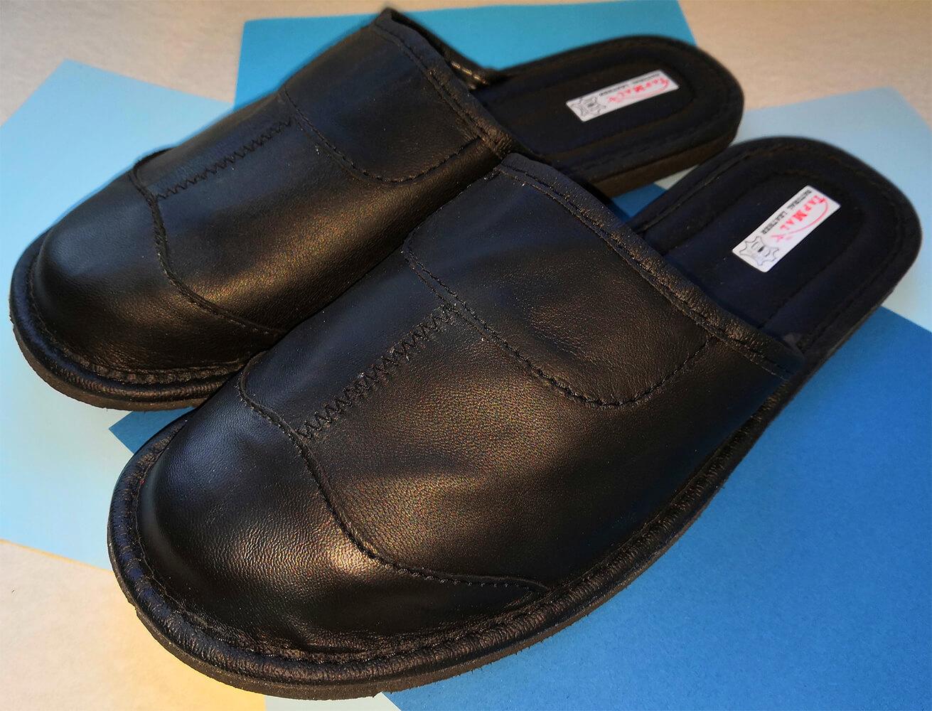 Купить кожаные тапочки мужские TapMal C30 44 размера. Фото 1