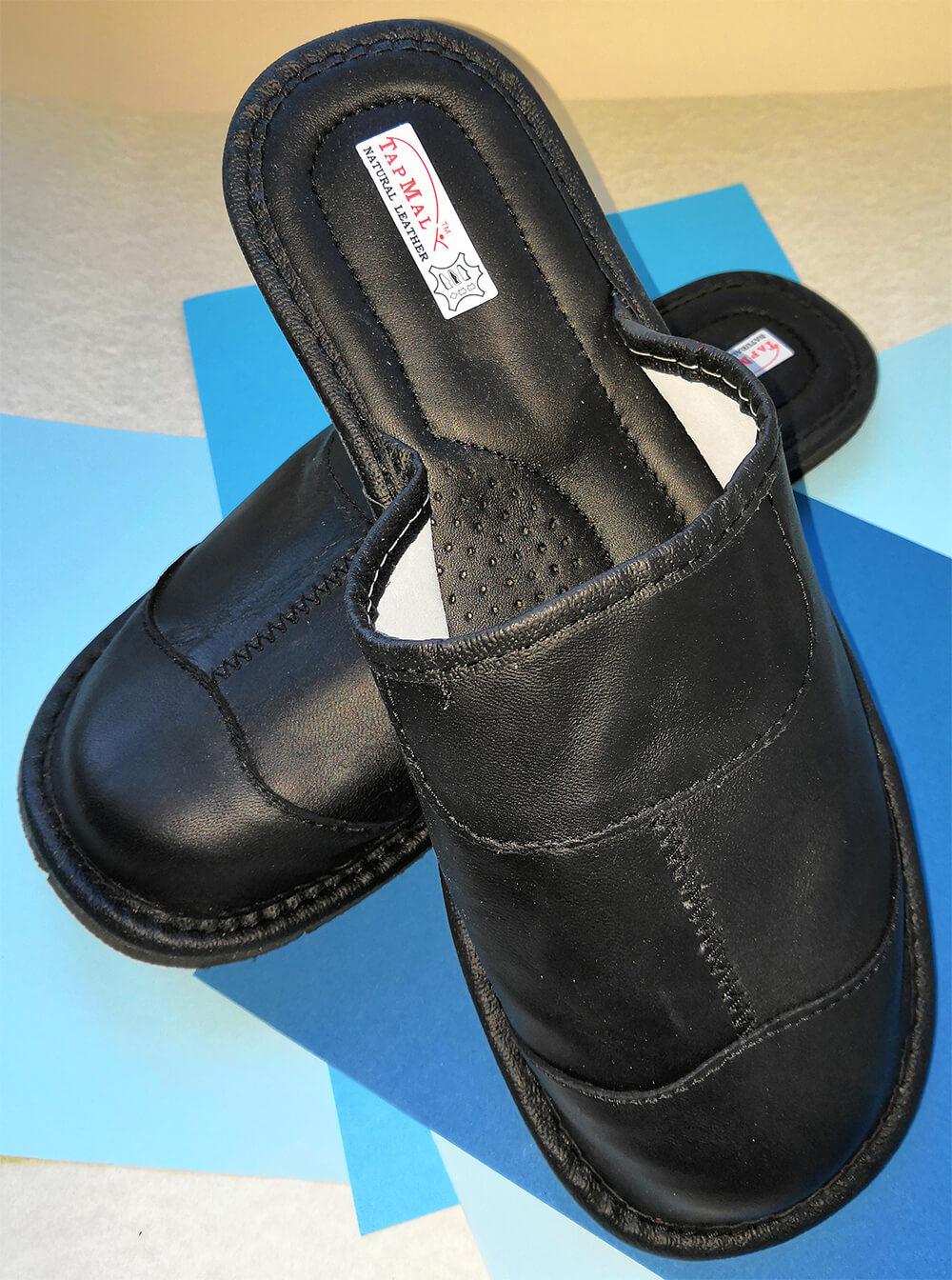 Купить кожаные тапочки мужские TapMal C30 44 размера. Фото 2