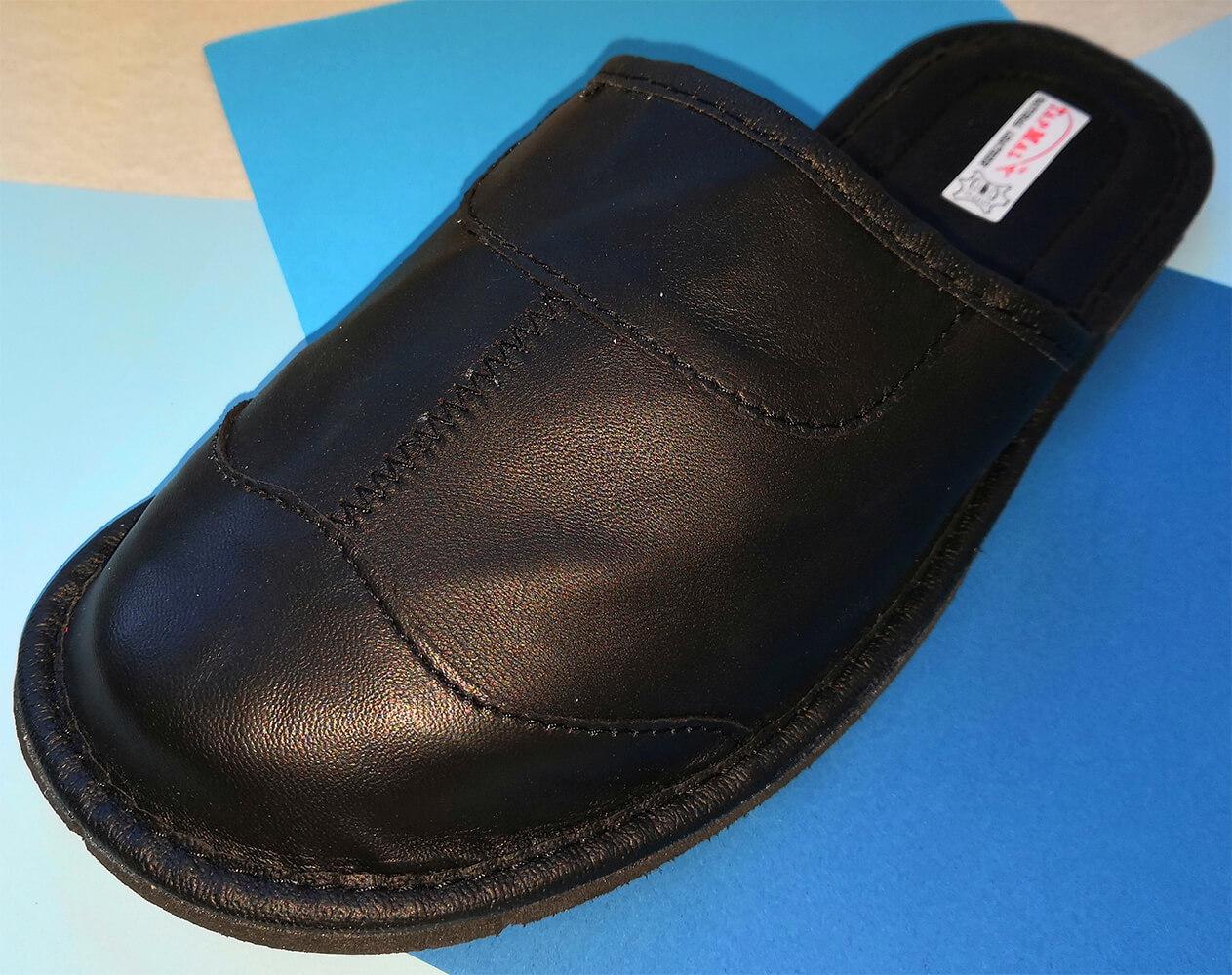 Купить кожаные тапочки мужские TapMal C30 44 размера. Фото 3