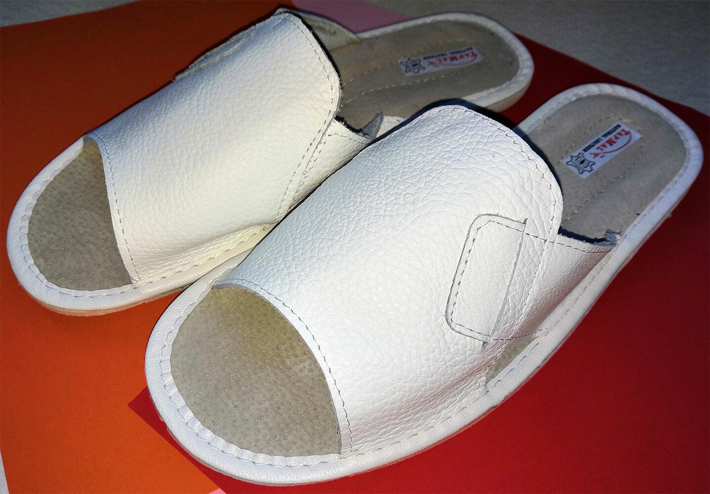 Купить кожаные тапки мужские TapMal C31 46 размера. Фото 1