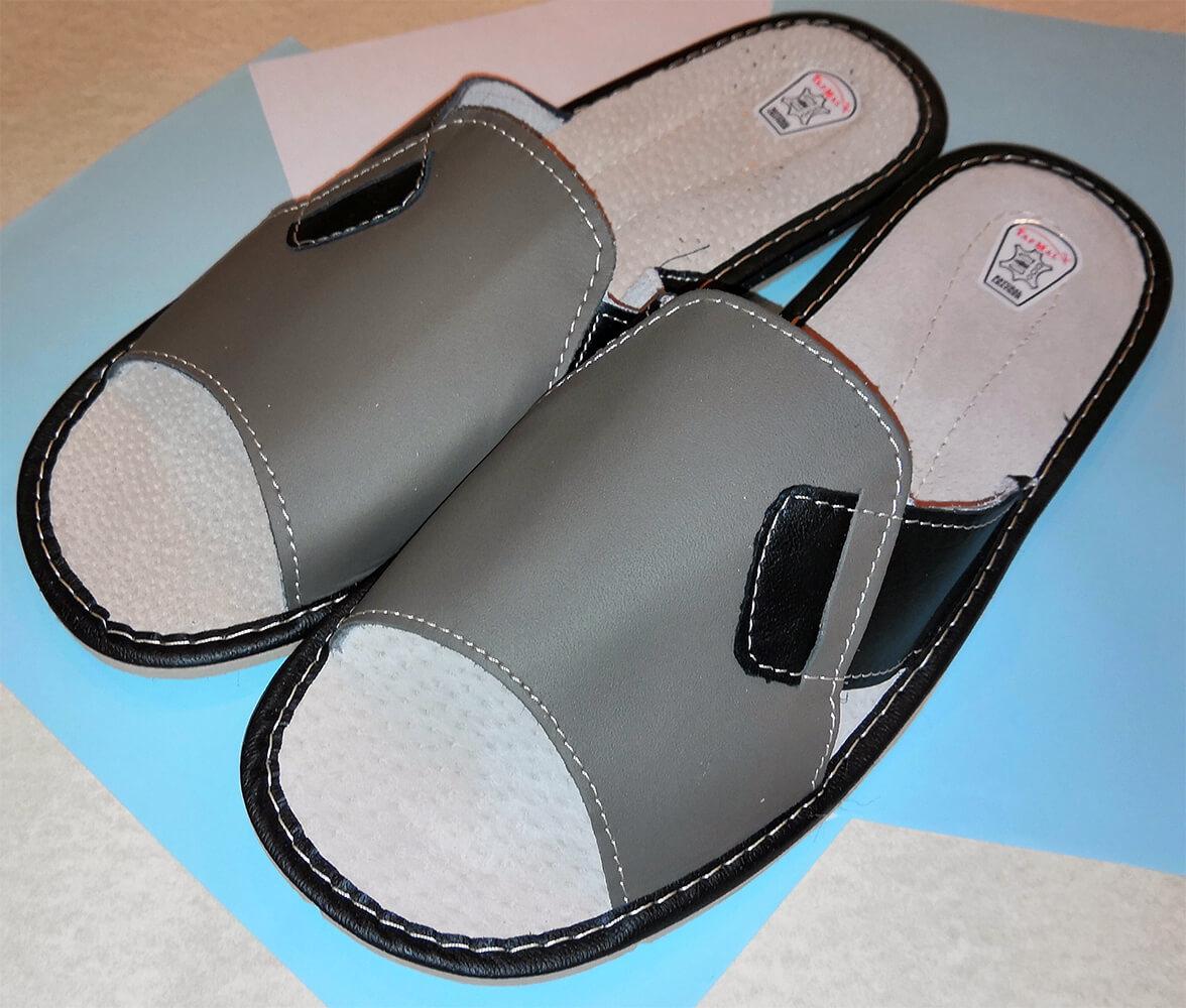 Тапочки кожаные мужские TapMal C99 43 размера. Фото 1