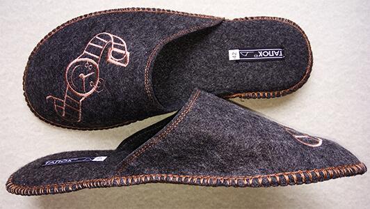 Войлочные тапочки мужские TapOK T103. Фото 4.