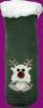 Детские носки-тапочки LookEN SM-HL-7211D зеленого цвета.