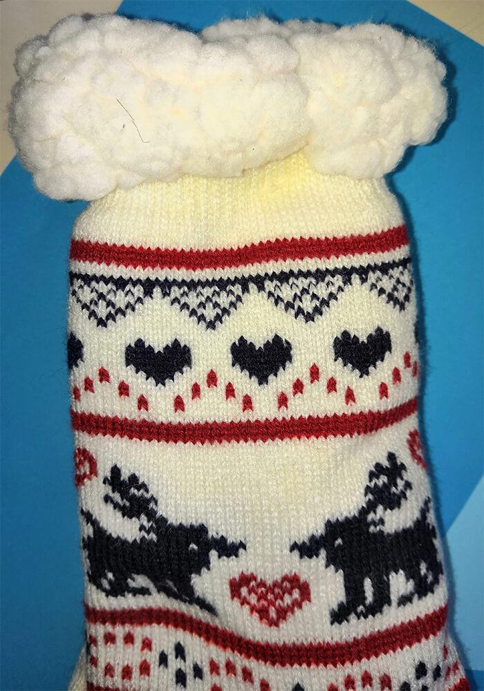 Женские тапочки-носки Emi Ross EJ-225-w 35-38 размера белого цвета. Фото 3