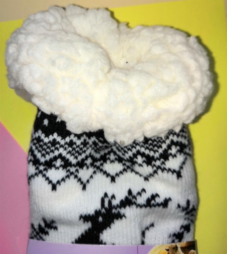 Женские тапочки-носки LookEN 2003-bl 39-42 размера черного цвета. Фото 3