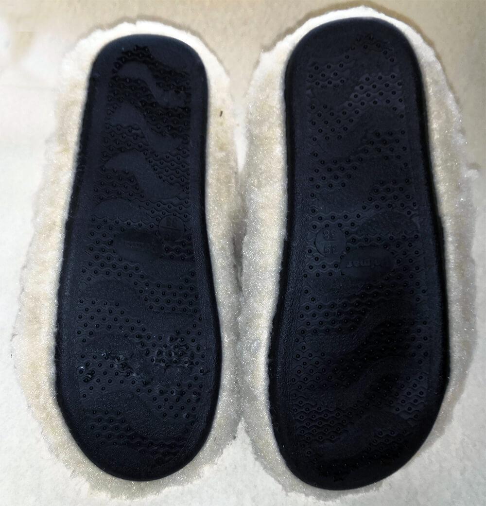 Женские комнатные тапочки-сапожки на овчине Polmar 1008-02 40/41 размера. Фото 3
