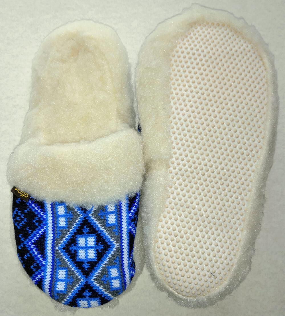 Женские комнатные теплые тапочки на овчине Polmar 1009-03 36 размера. Фото 2