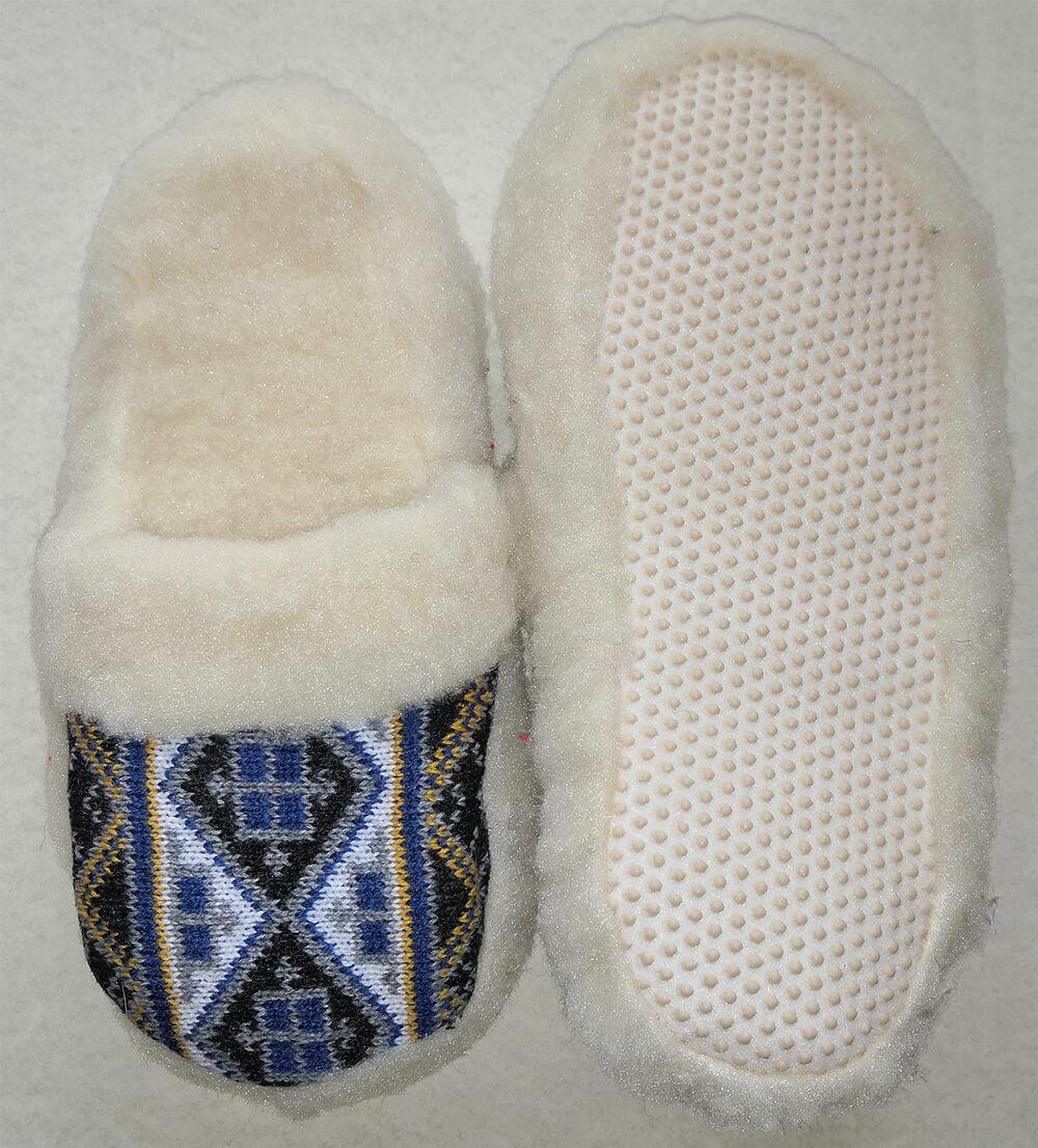 Женские комнатные теплые тапочки на овчине Polmar 1009-04 40 размера. Фото 2