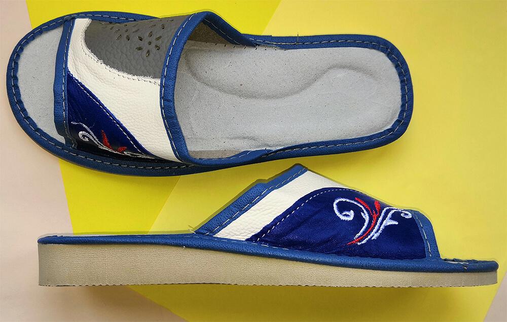 Кожаные тапки женские Polmar P171 39 размера. Фото 3