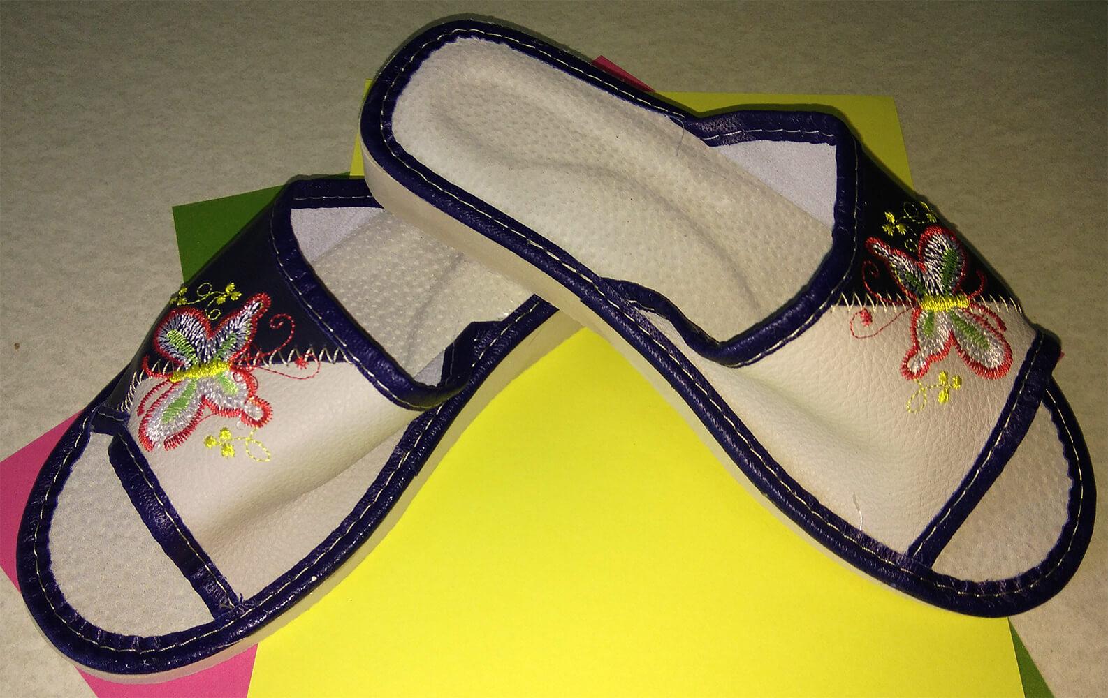 Кожаные тапочки женские Polmar P228 36 размера. Фото 2